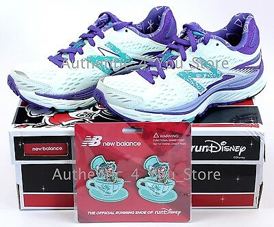 New Balance RunDisney Run Disney Mad Tea Party Shoes 880 V6 with Clips All Sizes