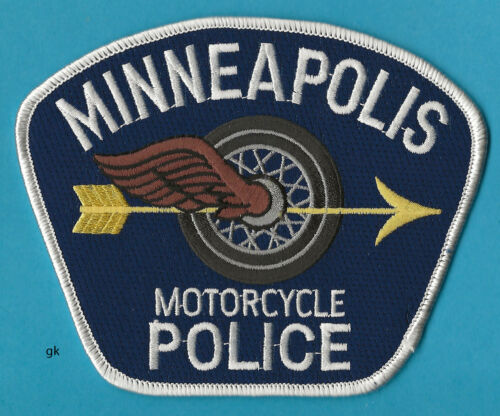 MINNEAPOLIS MINNESOTA MOTORCYCLE POLICE SHOULDER PATCH