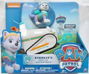 paw patrol pat patrouille figurine everest vehicule ebay. Black Bedroom Furniture Sets. Home Design Ideas