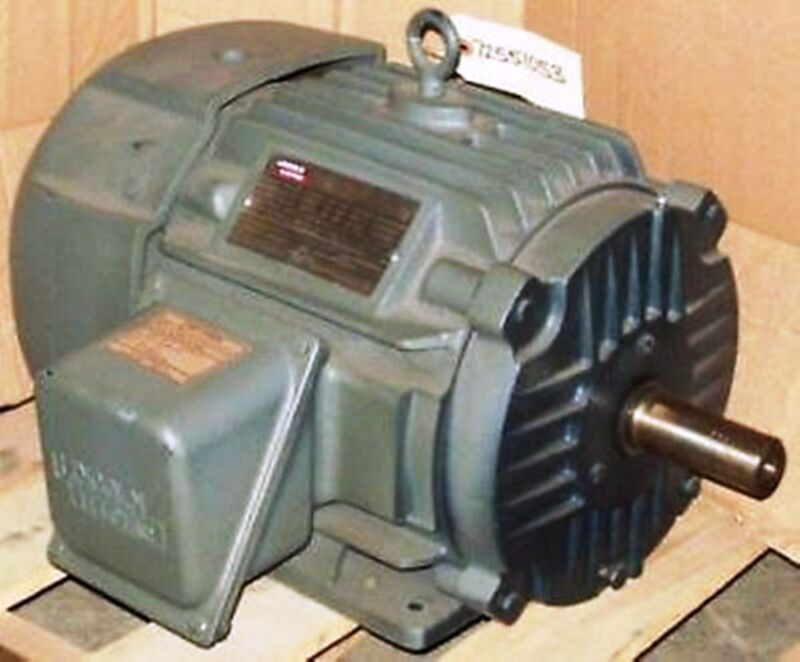 Lincoln 3 HP 1165 RPM TEFC 213T 230/460 Electric Motor