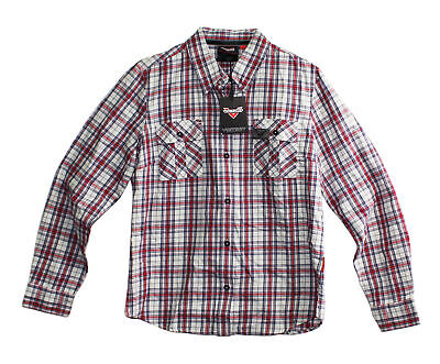 Triumph Flannel - Victory Motorcycle Flannel Shirt Size M 076512