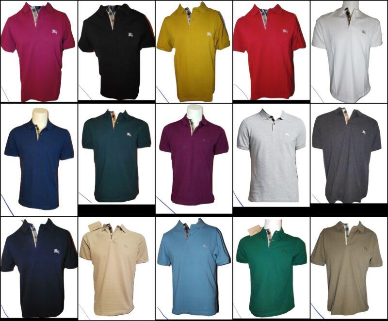 773bd930d Burberry Brit men s short sleeve nova check placket polo shirt s