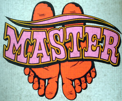 Vintage Risque T-shirt Heat Transfers Lot Of Two 1-master 1-slave Roach 1970s
