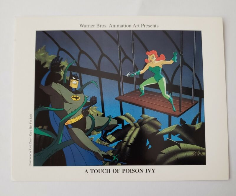 Warner Bros. Batman / Poison Ivy Promo Card Brand New
