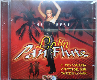 LATIN PAN FLUTE THE BEST - CD NUOVO E
