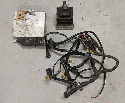 Opel Manta GTE ECU with loom and ignition coil