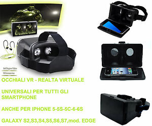Occhiali-VR-realta-virtuale-3D-Side-by-Side-Compatibile-iphone-5-6-6s-S5-S6-S7