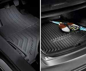Winter Floor Mats and Trunk Tray - 2016 or later Honda Accord