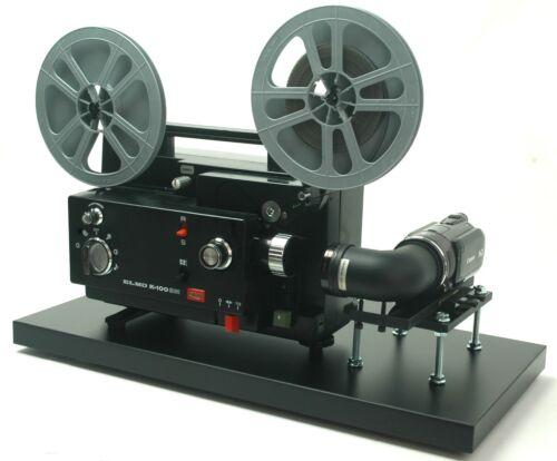 Elmo Movie Projector Telecine Video Transfer Unit, Dual 8 Full HD NTSC Camera