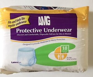 AMG Adult Diapers (Large)
