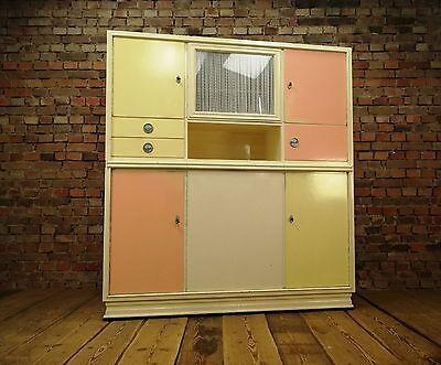50er Küchenschrank Rockabilly Vintage Küche 50s Küchenbufffet Sputnik Pastel