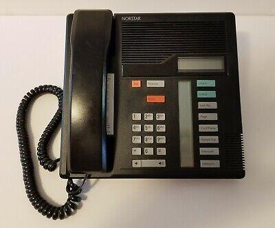 Norstar Meridian Northern Telecom M7208 Black Display Telephone Speakerphone