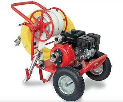 Power Pump 4T Benz With Kit Fire Focus WORTEX LWP-50T Engine Loncin 6,5HP