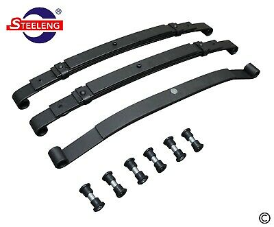 Heavy Duty Front and Rear Leaf Springs for Club Car Precedent Golf Cart
