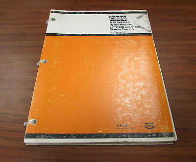 Case W5a W5b Hyster Winches 1150b 1150c Crawler Tractor Parts Catalog Manual