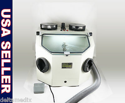 Dental Lab Sandblasting Machine Sandblaster 110v Fda 026-dq Dentq