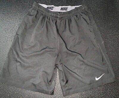 Mens Nike Black Dri-Fit Shorts XL gym workout running  100% Polyester