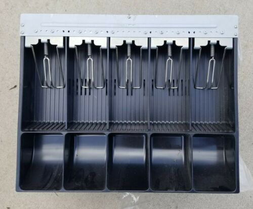 """New ! Lot of 5 Cash Drawer Tray  14.1/8"""" x 11.5"""" x 2.5""""  - Free Shipping -"""