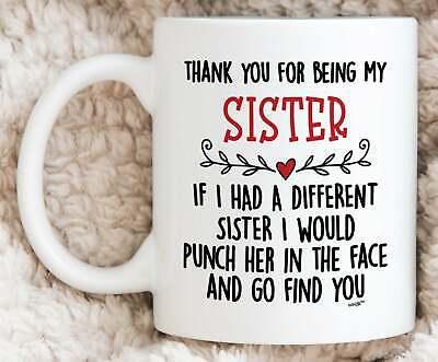 Sister Gifts Sister Mug Best Sister Gift Sister Birthday Gift Sister Coffee Mug ()