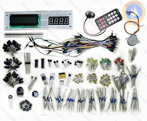 COOQrobot-compatible-DIY-Starter-Kit-lcd-Relay-Stepper-Infrared-1602-for-arduino