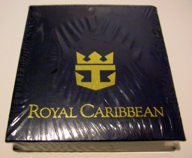 NEW RARE SEALED - ROYAL CARIBBEAN OCEAN LINERS CRUISE SHIP LINE NOTE BOOK + PEN