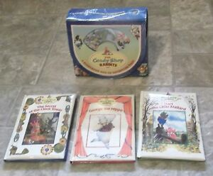 The Candy Shop Rabbits - 3 books with CD & Case