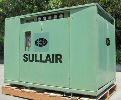 Sullair 25HP Rotary Screw Shop Air Compressor 460V 3 Phase
