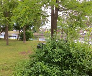 CAMPBELLFORD 1 bedroom waterfront apartment