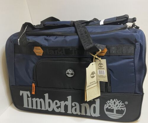 Timberland Highgate Spring Collection 22 Duffle Bag Dark Sapphire MSRP 260 - $39.99