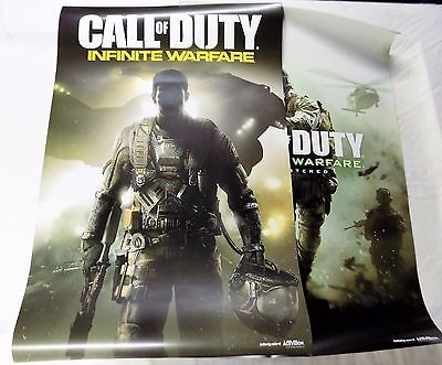 Call Of Duty Modern Warfare   Infinite 2 Duplicate Two Sided Poster New Ps4 Xbox