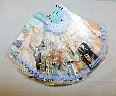 Wedding Scrapbook Stickers Ring Limo Shower Party Dress Cake Doves Champagne