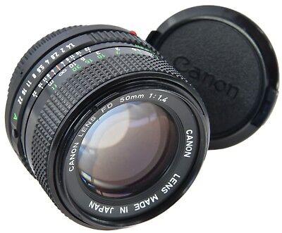CANON FD 50mm 1.4 ===Mint=== usato  Spedire a Italy