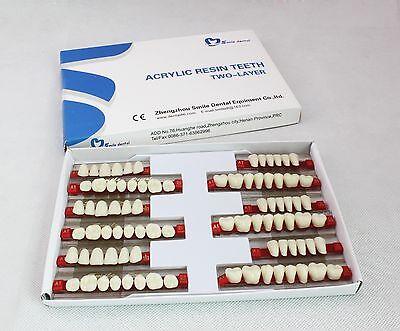 5 Boxes3sets Denture Of 281 Dental Acrylic Resin Teeth Vita Color 503 A2