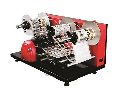 Roll To Roll Label Die Cutter Matrix Removing And Winding Machine St-lcp01-110v