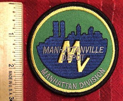 ManhattanVille Depot Logo Patch.