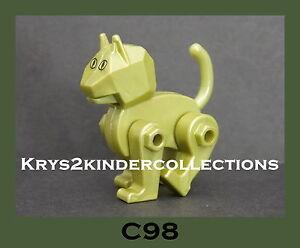 jouet kinder chat robot vert mauzzi c98 france 2005 ebay. Black Bedroom Furniture Sets. Home Design Ideas
