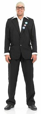 Herren Harry Hill Tv Film Prominent Berühmt Comedian Kostüm Kleid - Harry Hill Kostüm