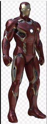 IRON MAN MARK 45 - FULL BODY SUIT COSPLAY COSTUME ADULT ARMOR FREE ARC & HELMET (Costumes Iron Man)
