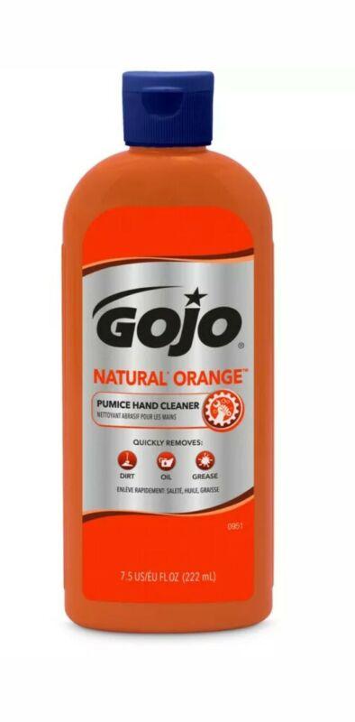 Gojo Natural Orange Scent Pumice Hand Cleaner Exfoliating Germ Scrubbing Soap