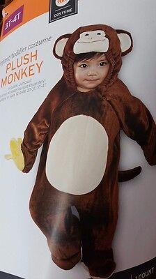 Kostüm AFFE 98/104  süß Overall Karneval Fasching Tiere monkey Junge Mädchen USA