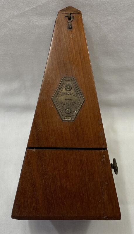Antique Maelzel Paquet France Metronome