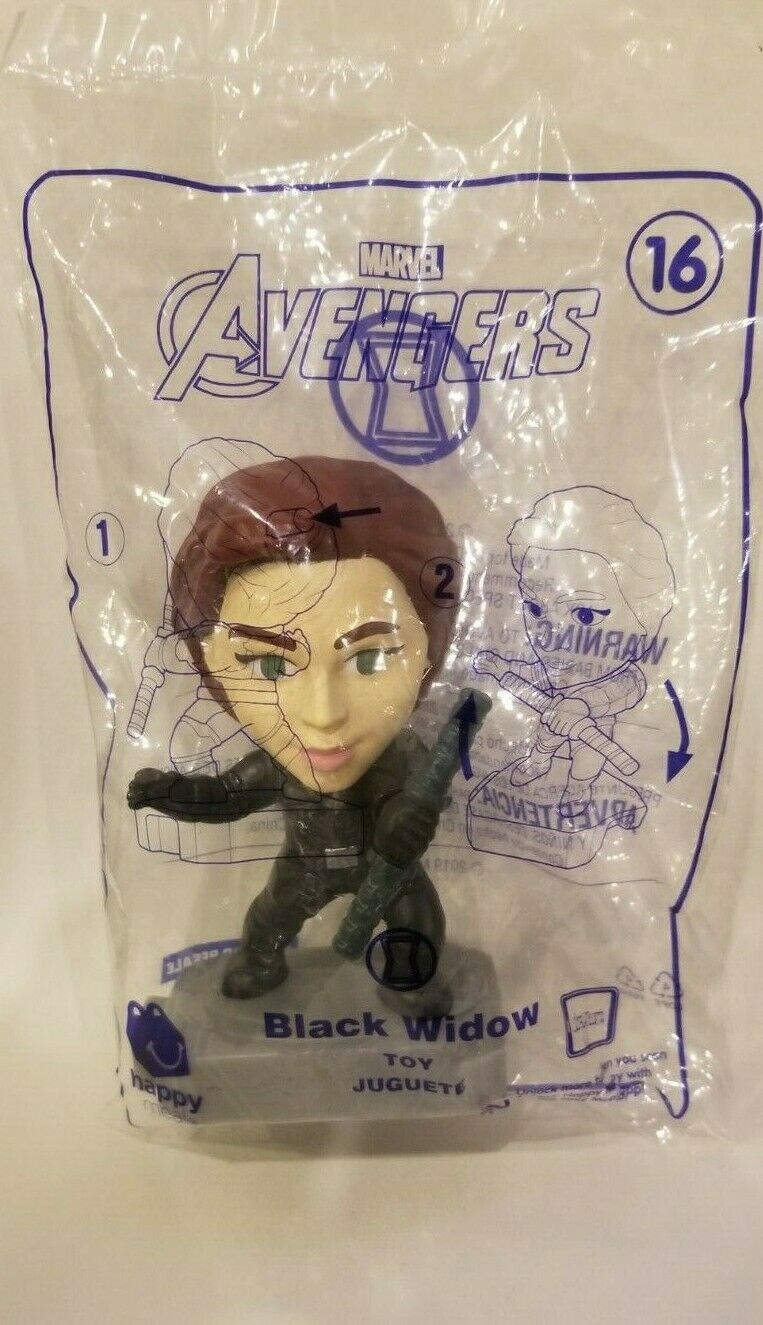 Avengers (2019) McDonalds Happy Meal Toys- Fast Shipping! #16 Black Widow