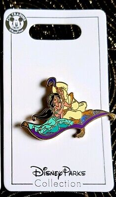Disney Aladdin & Jasmine pin flying carpet