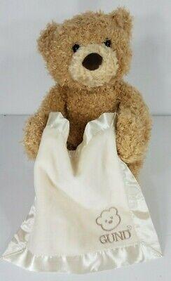 Baby Gund Peek-A-Boo bear 10 inch Talking Electronic interactive plush toy Works