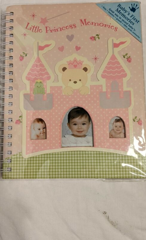 NEW Baby First Year Memory Book Girl Pink Record Keeper Journal Shower Gift