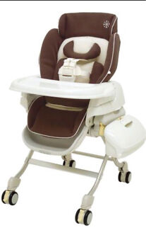 Combi Parenting Station - high chair/ low chair/day bed