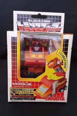 Transformers Choro Q Robo Rodimus Convoy TV Version Autobot anime manga robot