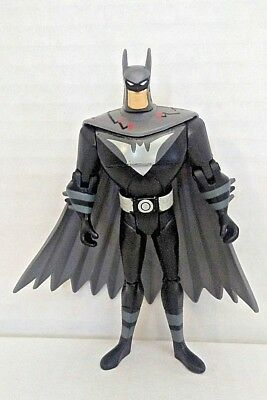 Batman Black Suit DC Comics Justice League Unlimited Loose 4 1/2