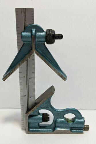 """Fowler 6"""" 4R 3-Piece Combination Square 52-370-006"""