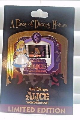 Piece of Disney Movies Walt Disney's Alice in Wonderland Pin LE 2000